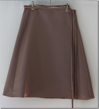 Simple, Stylish A-Line Wrap Skirt | Cook Clean Craft